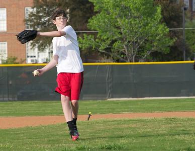 Baseball - JV PracticeR 46