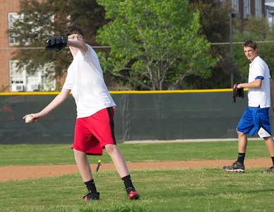 Baseball - JV PracticeR 47