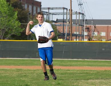 Baseball - JV PracticeR 43