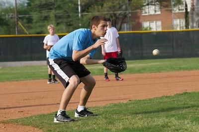 Baseball - JV PracticeR 38