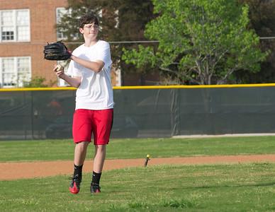 Baseball - JV PracticeR 45