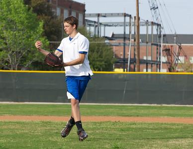 Baseball - JV PracticeR 42