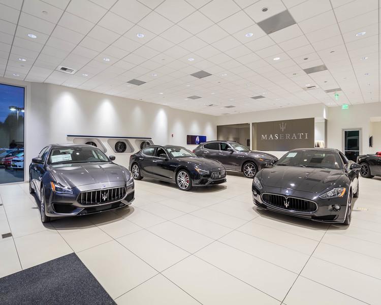 Maserati 7 test