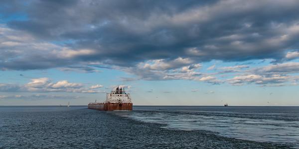 Leaving Duluth   (Mesabi Miner)