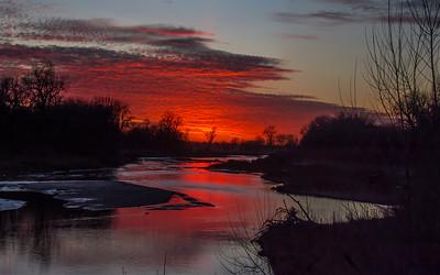 Red Elkhorn Sunset