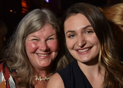 Press Director, Deb Medenbach with Executive Director's Assistant, Morgan Malecki, at the 2016 Woodstock Film Festival Launch Party at Libation NY, sponsored by Ketel One. Photos by www.johnmazlishphoto.com