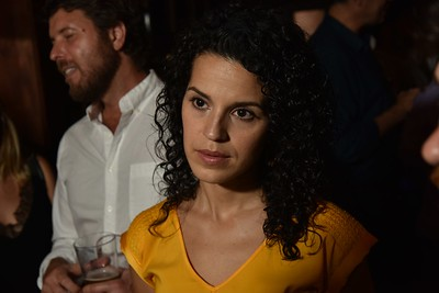 Actress, Shirley Rumierk (11:55) at the 2016 Woodstock Film Festival Launch Party at Libation NY, sponsored by Ketel One. Photos by www.johnmazlishphoto.com
