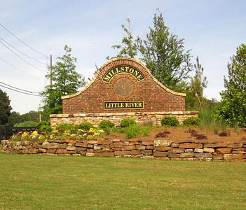Millstone At Little River Cherokee County GA