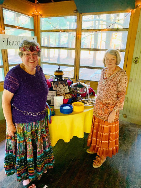 Westford Friends of East Boston Camps' Patti Mason and Leslie Thomas,  both of Westford
