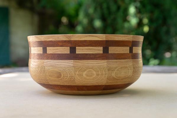 Woodturning Segmented Bowl