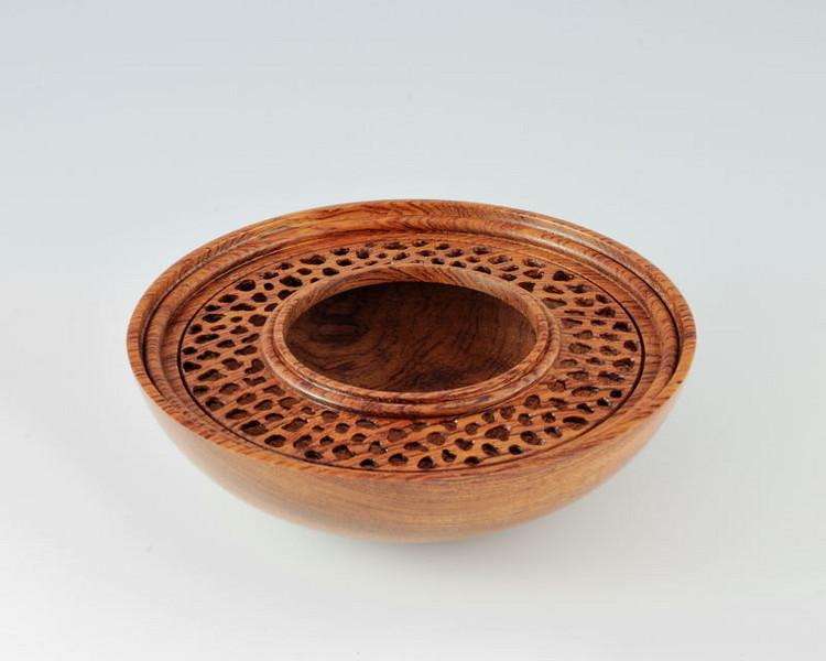 Pierced Bubinga Bowl