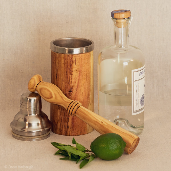 Honey Locust Muddler and Shaker