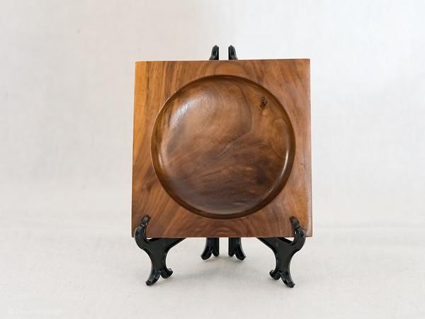 Walnut Square Bowl