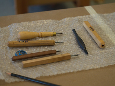 Garrett inlay tools
