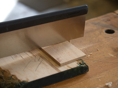 Cutting an inlay panel