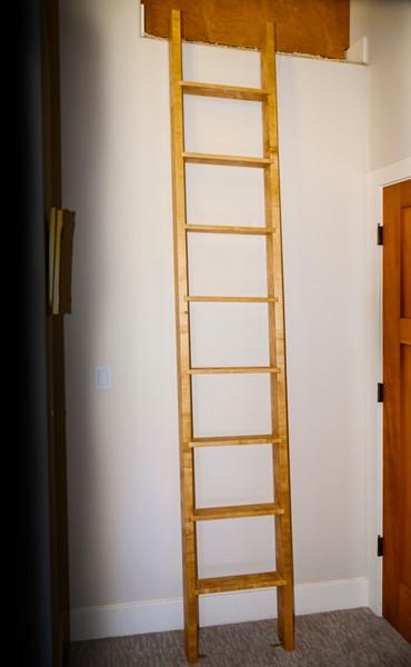 Hickory ladder for kids loft