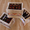 Beer bottle crates from old Fence wood