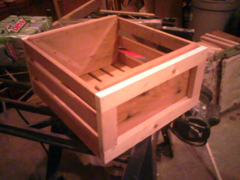 Framed Crate