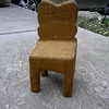 Small chair I made in a whittling class in 7th grade.