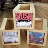 Custom DVD Crates with Album covers on sides