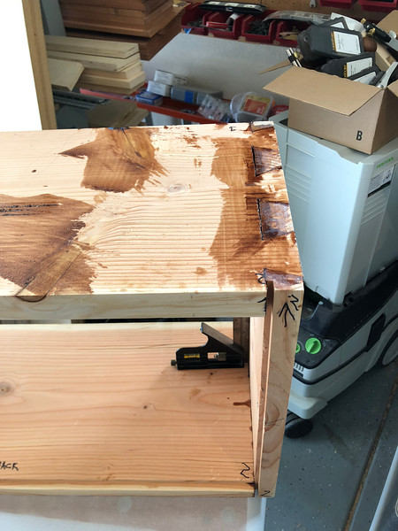 Dovetails in 2x12