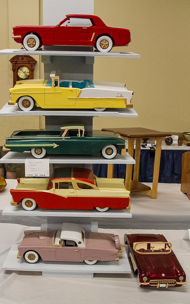 Francis Youngblut - 6 Model Cars Made to Scale and Original Paint Color