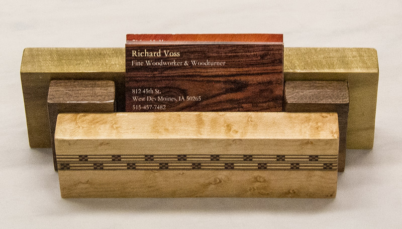 Rich Voss - Business Card Holder