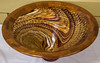 Tom Whalley - Layered Wood Bowl - It won People's Choice Award at Artistry in Wood Show and it also was the State Fair Winner of 1st Place, Best of Show 1st Runner Up and People's Choice Awards