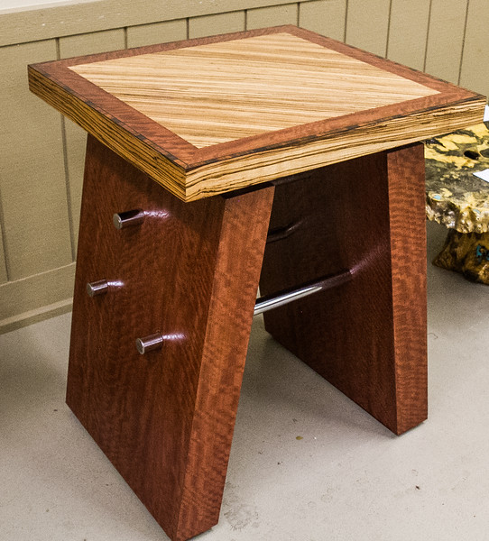 Bob Saunders and Ross Valone - Veneered Table