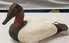 Roger Anderson - Canvas Back Decoy - Bass Wood