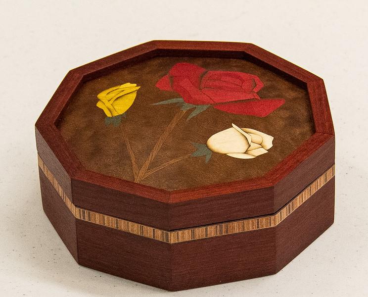 John Twedt - Blood Wood Nine Sided Box