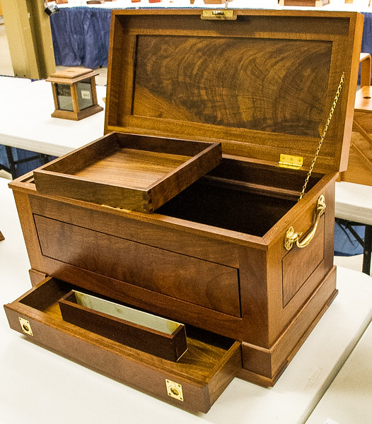 Paul Snider - Walnut Tool Chest - Best of Show Award