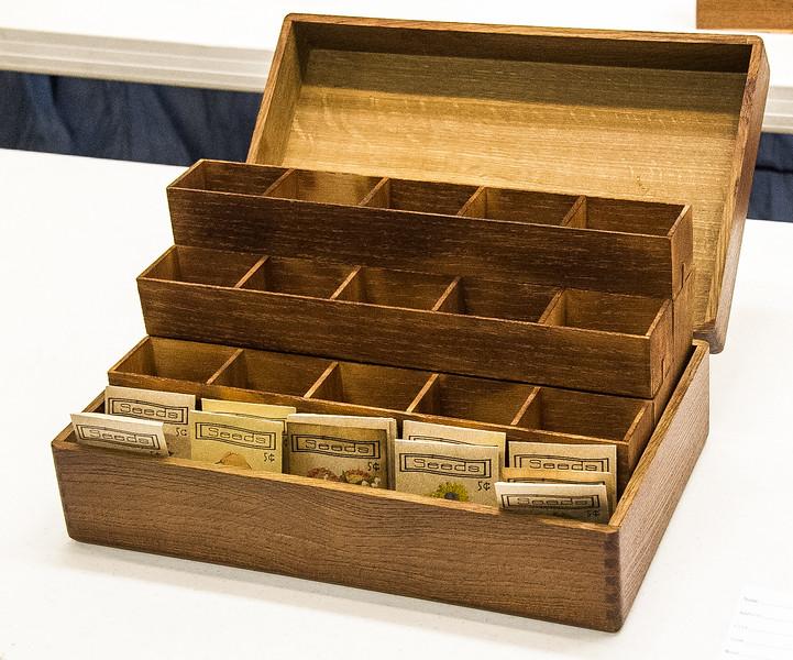 John Twedt - White Oak Seed Box