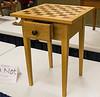 Joe Kucera -  Walnut & Oak Chess Table