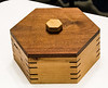Leon Berkley - Cherry & Walnut Hexagon Box
