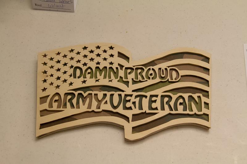 Lynn Clary - Scrollsaw - Salute to Veterans