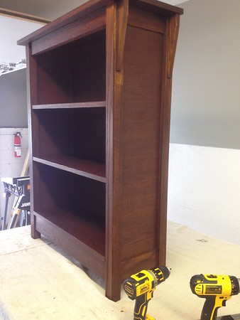 Arts and Crafts Bookcase