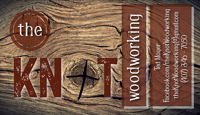 the knot v16 business card