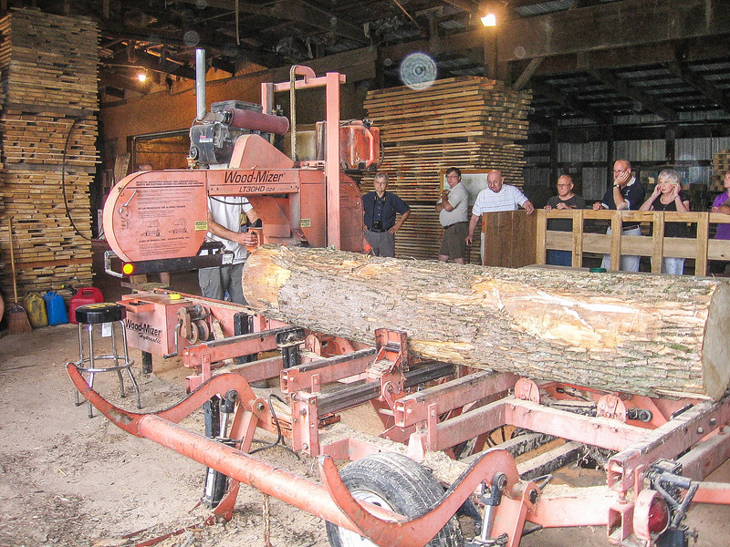 Amana Tour - Forestry Division - Millworks