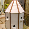 "Custom made dovecote by  <a href=""http://www.harrisonwoodwork.com"">http://www.harrisonwoodwork.com</a>"