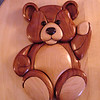 Teddy Bear   (Cherry,Maple & Walnut)