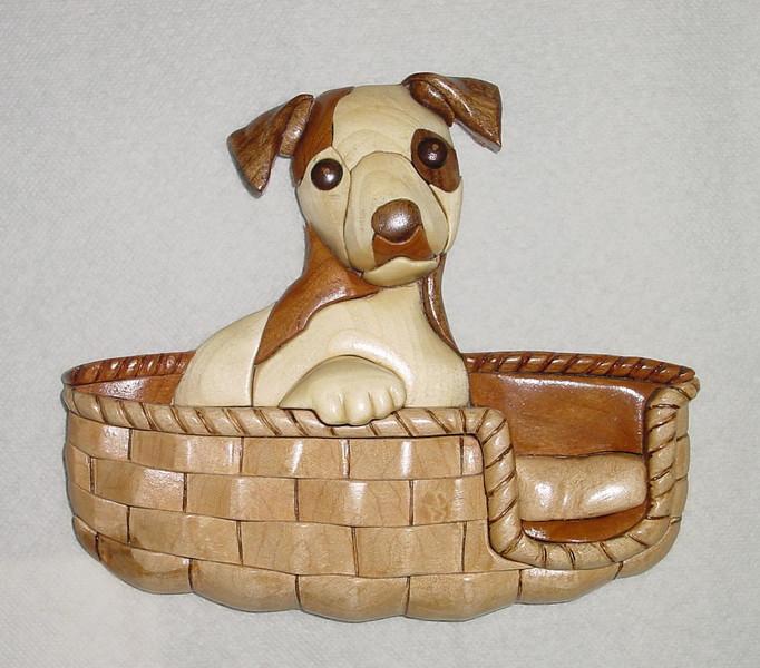 Puppy_in_a_Basket -  Dec.2000<br /> <br /> $65