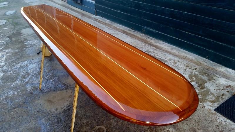 custom 10' Big Sur bar Table