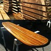 "8'3"" x 22"" Santa Cruz bar table top"