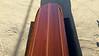 custom 10' Big Sur bar Table Clear Redwood surfboard