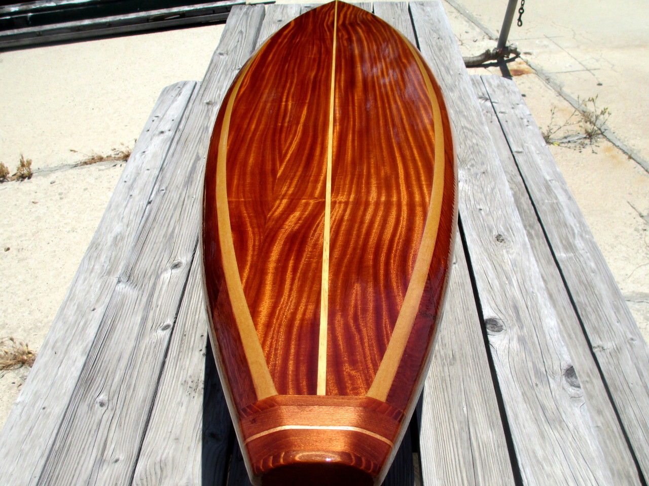 "Hawaiian gun 8'3"" Santa Cruz"