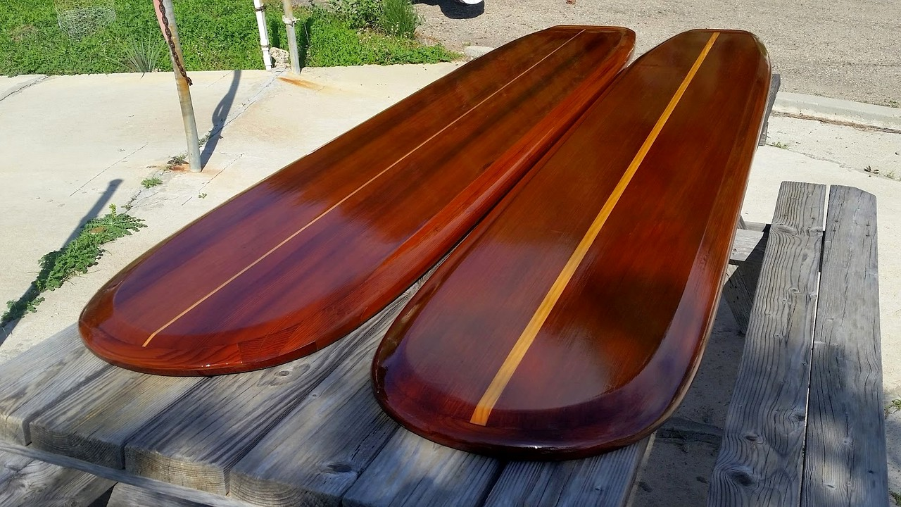 "two 8'3"" Big Sur's certified old-growth clear all heart Redwood unused reclaimed"