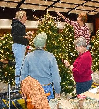 Tree Topping - Marlene Anderson Beattie and Karen Lane