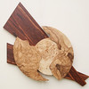 Olive Ash and Mappa Burl Sculpture