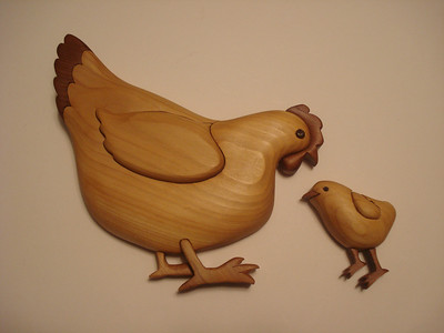 Chicken and Hen for Angie